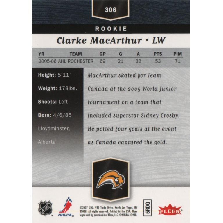 Clarke MacArthur