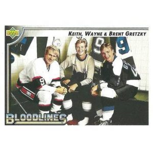 Keith Gretzky / Wayne Gretzky / Brent Gretzky