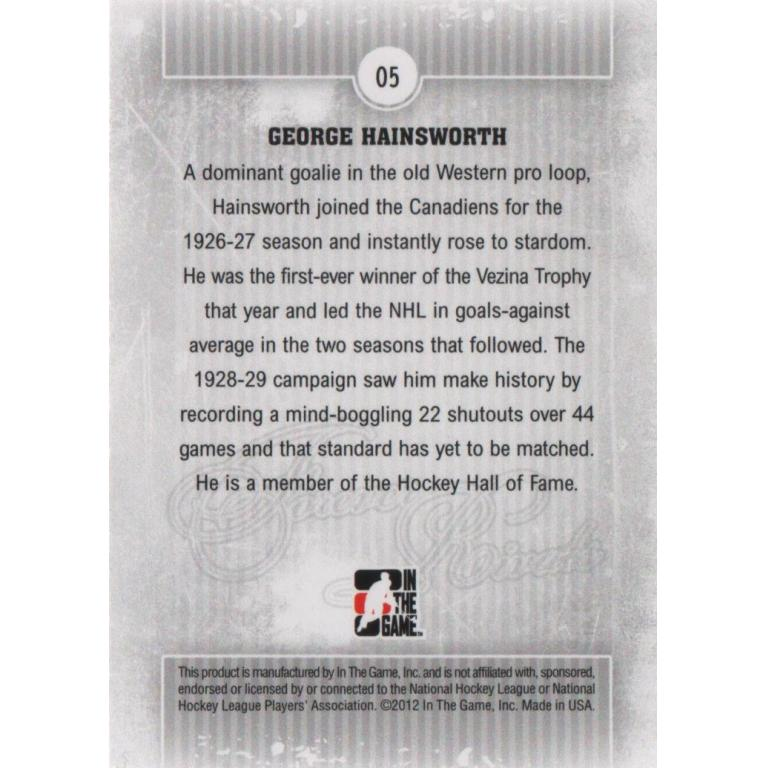 George Hainsworth