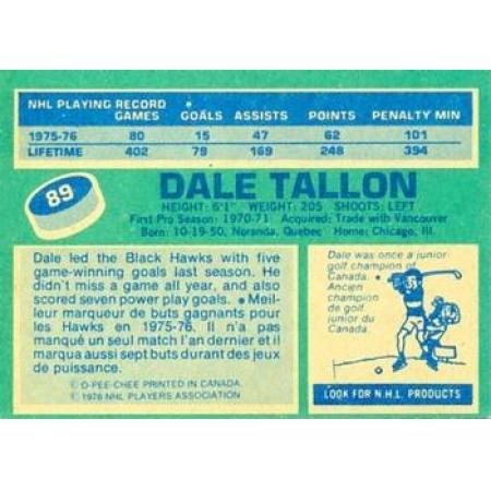 Dale Tallon