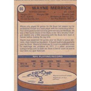 Wayne Merrick