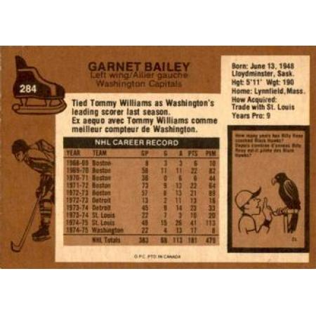 Garnet Bailey