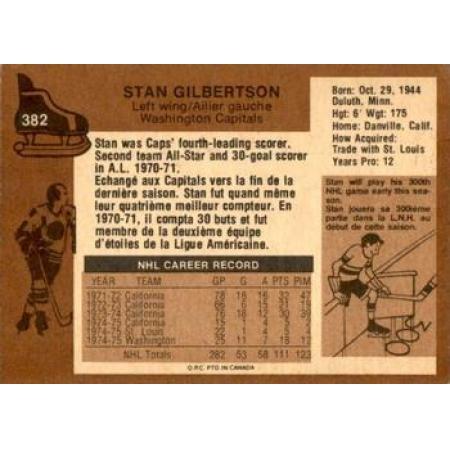 Stan Gilbertson