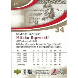 Miikka Kiprusoff