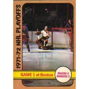 1971-72 NHL Playoffs Game 1
