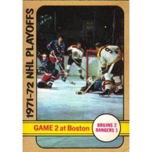 1971-72 NHL Playoffs Game 2