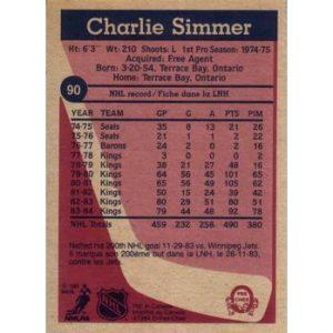 Charlie Simmer