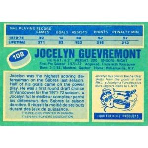 Jocelyn Guevremont