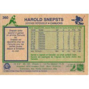 Harold Snepsts