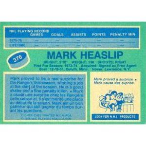 Mark Heaslip