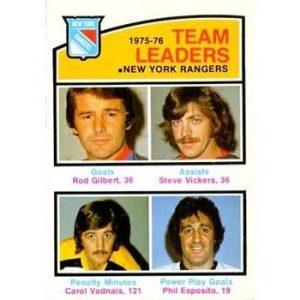 Rod Gilbert / Steve Vickers / Carol Vadnais / Phil Esposito