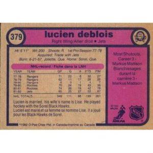 Lucien DeBlois